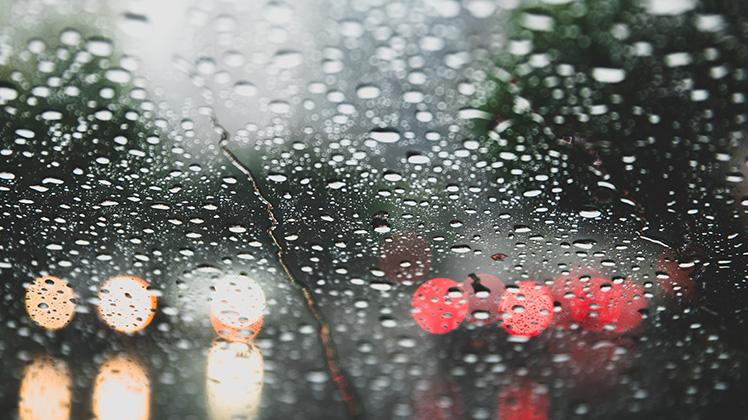 Forte pioggia
