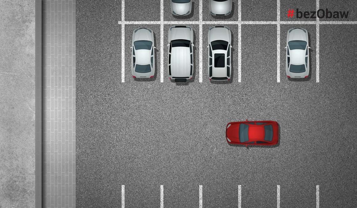 parkowanie prostopadle