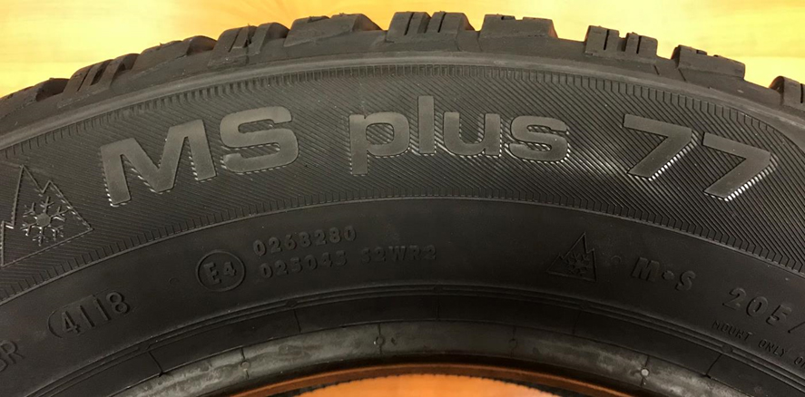 Uniroyal MS PLUS 77 205/60 R 16 92 H